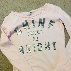 Girls brand Old Navy size 14 extra large T-shirt